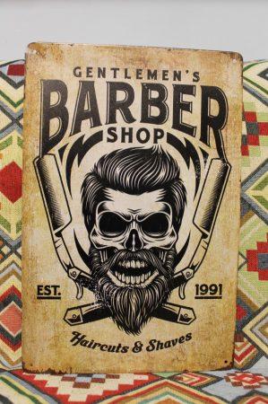 fém kép: Barber shop