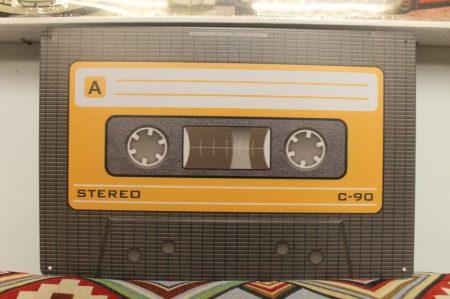 fém kép: stereo kazetta
