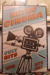 fém kép: Retro cinema
