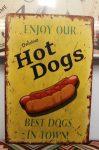 fém kép: Enjoy our hot dogs