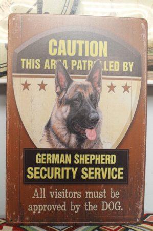 fém kép: German shepherd