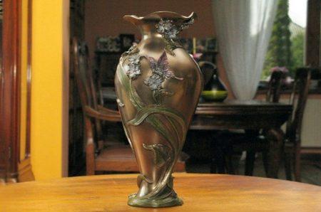 Lepkés váza