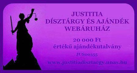 Justitia ajándékutalvány 20000Ft