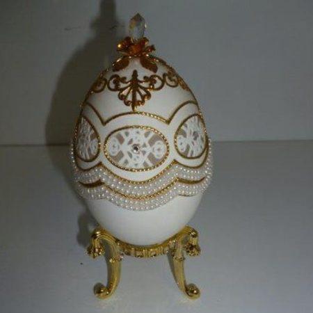 Ékszertartó tojás